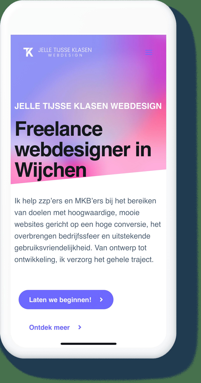 Webdesign Wijchen - Jelle Tijsse Klasen Webdesign